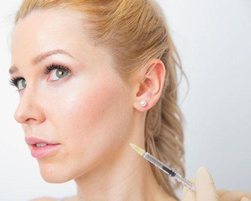 Kinnfalten-Botox